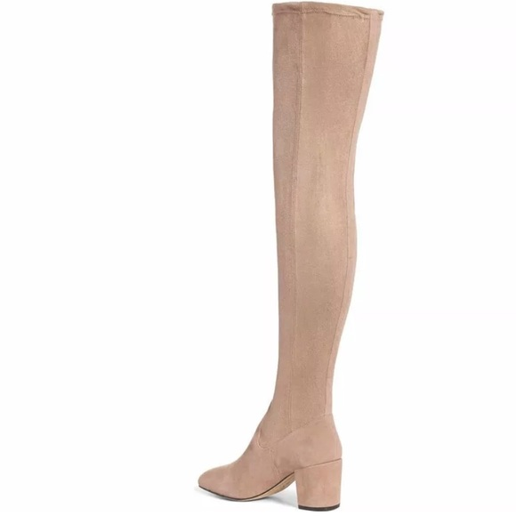 a59267e21a3 M4D3 FOOTWEAR Shoes - M4D3 FOOTWEAR Sobrina Beige Over the Knee Boot